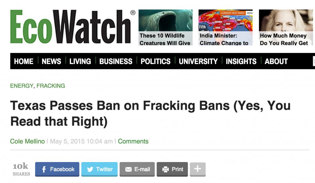 Ecowatch Headline 1