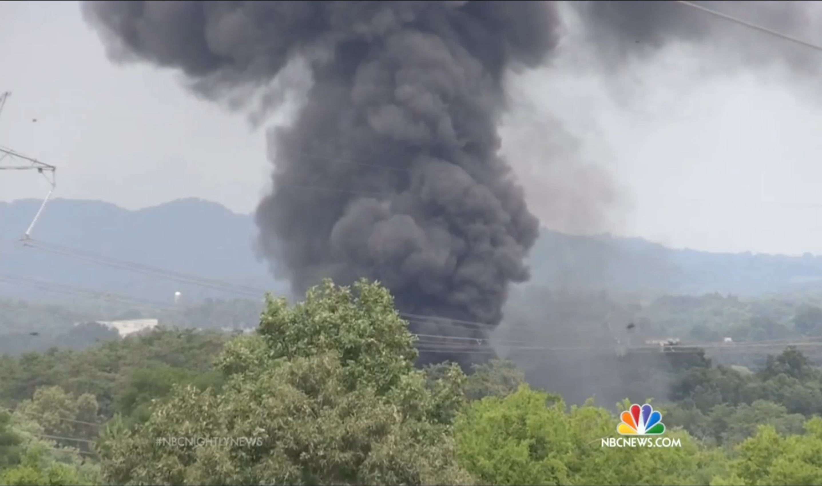 TN Town Still Reeling After 5,000 Evacuated in Toxic Chemical 'Bomb Train' Explosion