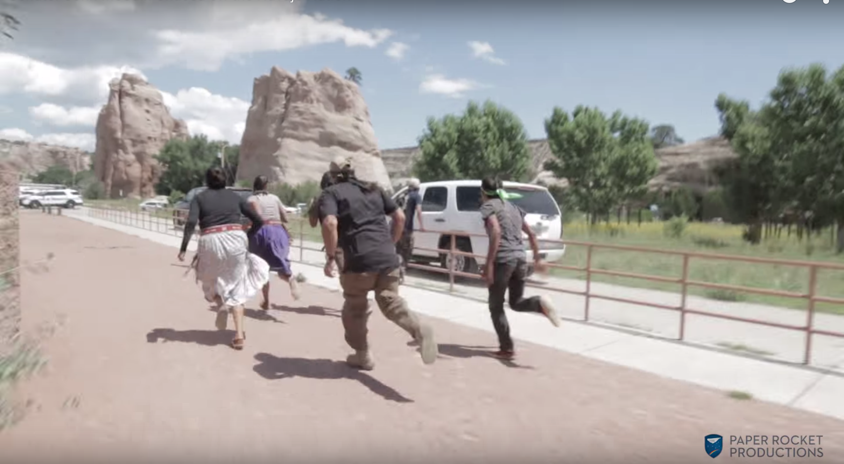 'Get The Hell Off Our Land!' — Apache, Navajo Protestors Chase McCain Motorcade Off Reservation