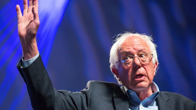 Bernie Sanders Blows Away The Field in Iowa 'Climate Emergency Caucus'
