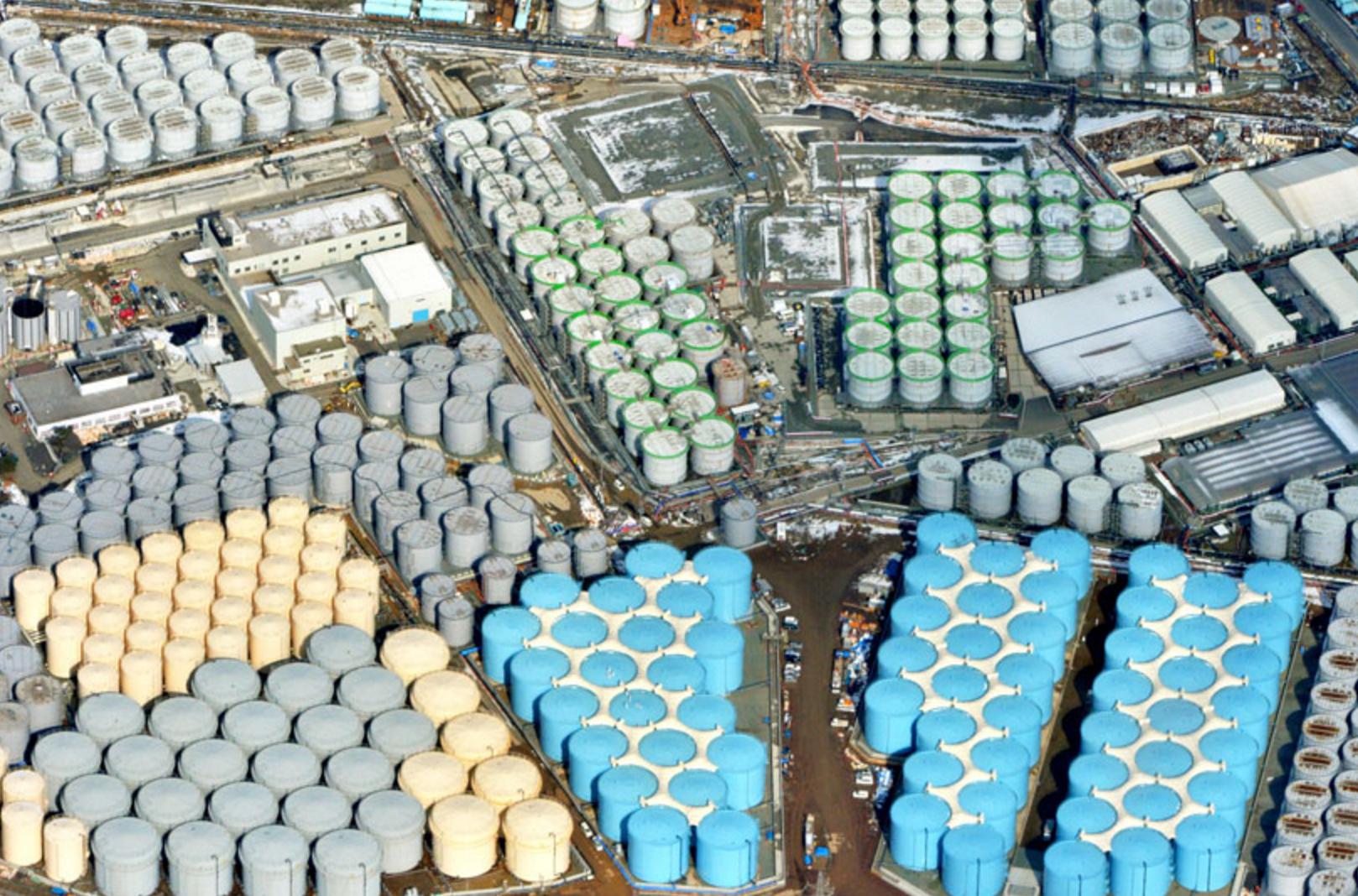 Radioactive Water Pileup Problem Still Festering at Fukushima: 1106 Tanks and Counting