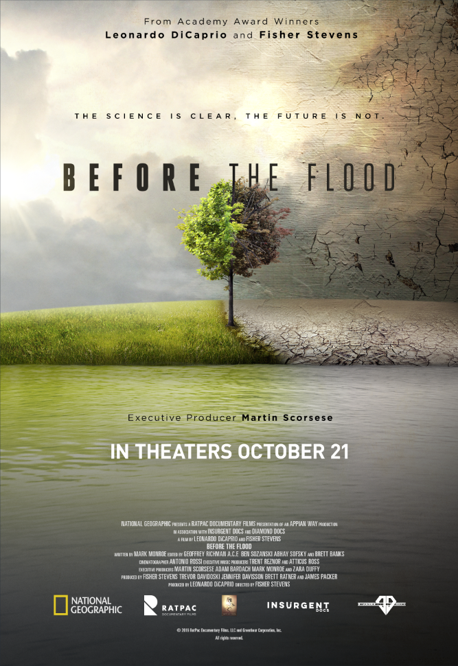 Before The Flood -- Movie Poster