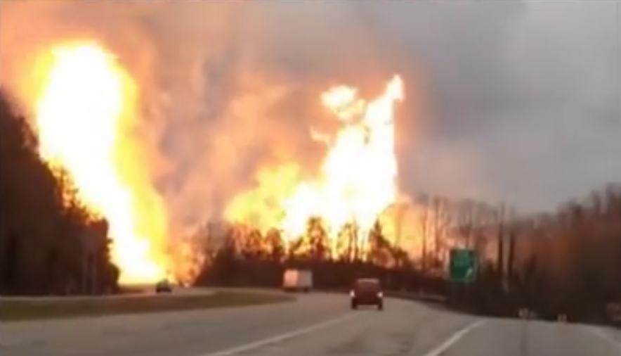 What's The Big Deal About Pipelines? (Oh Right) — Explosive Pipeline Video Blows Up Online