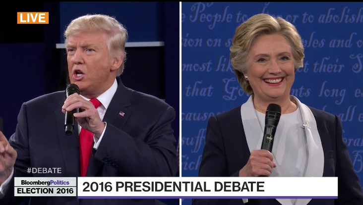 POLL CLOSED: VIEW RESULTS: Who Won The 2nd Presidential Debate? Clinton/Trump?