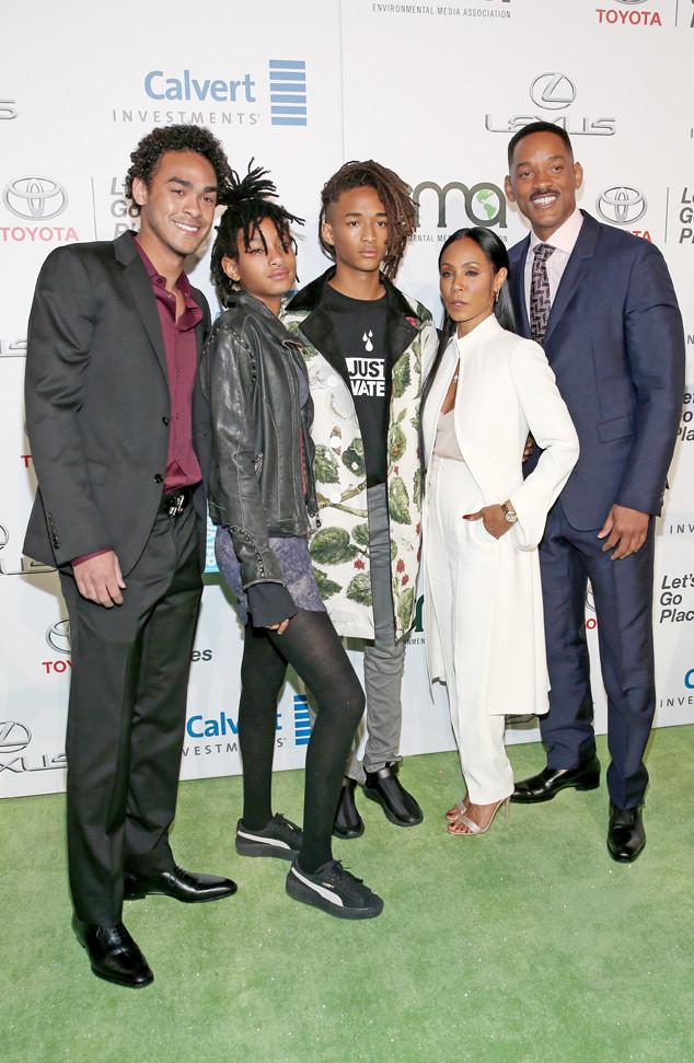 Smith Family at Environmental Media Awards (EMA) -- Photo: Getty Images for Environmental Media Association