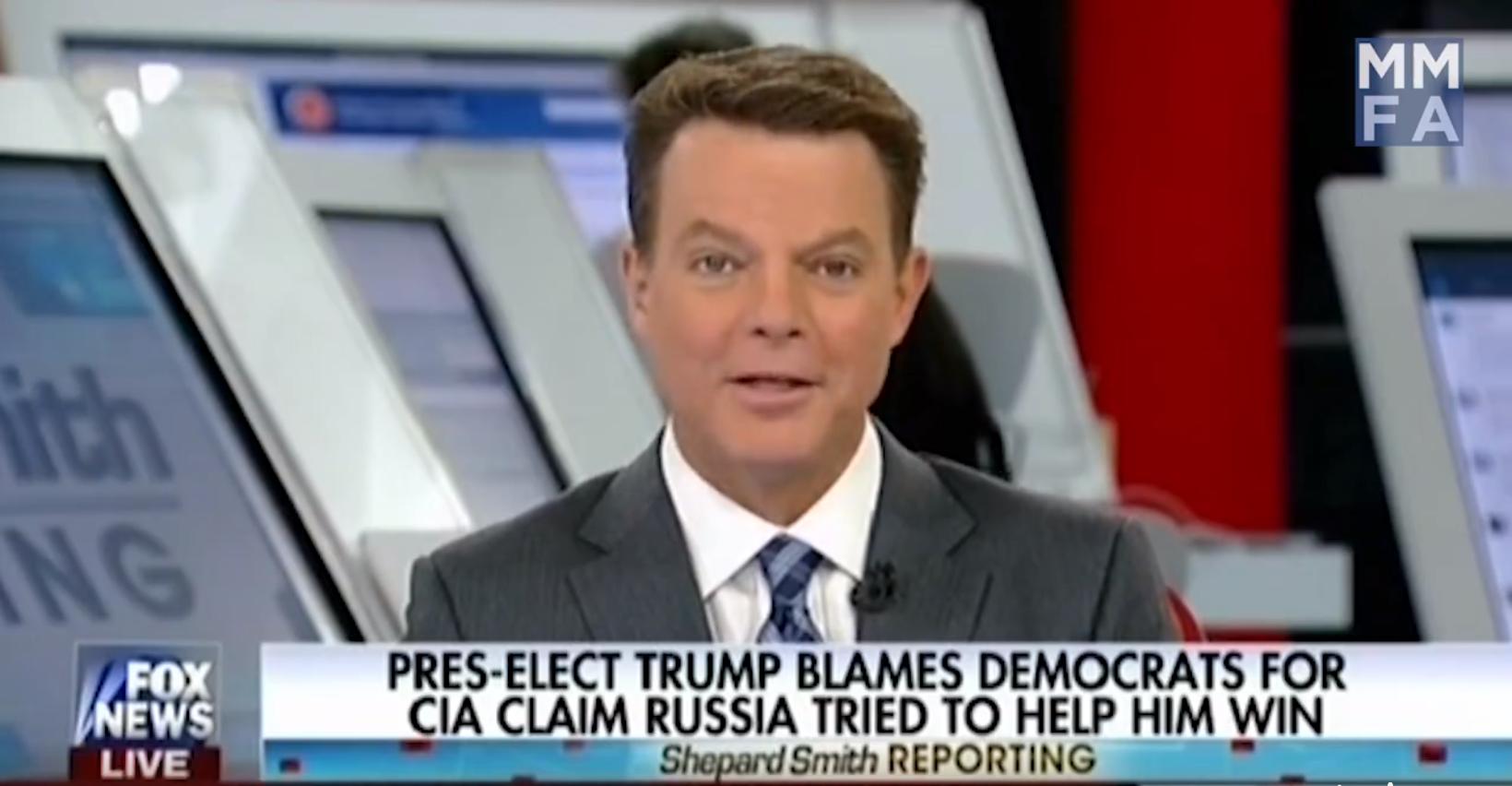 Video: Even Fox News Calls Bullshit on Trump's Response to Russia's Election Hacks
