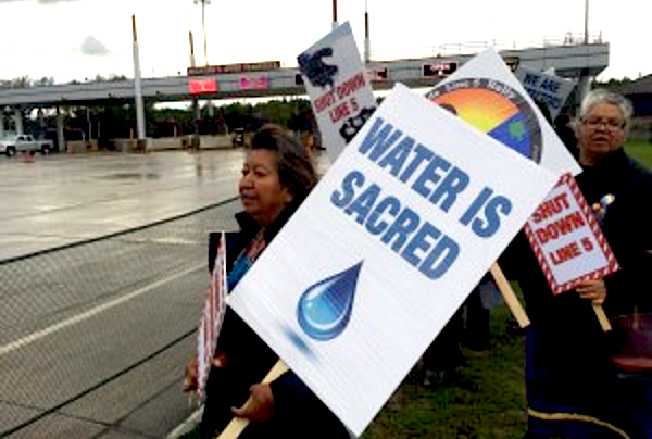 Chippewa Tribe Kicking Enbridge, and Great Lakes Underwater Tar Sands Pipeline, Off Reservation