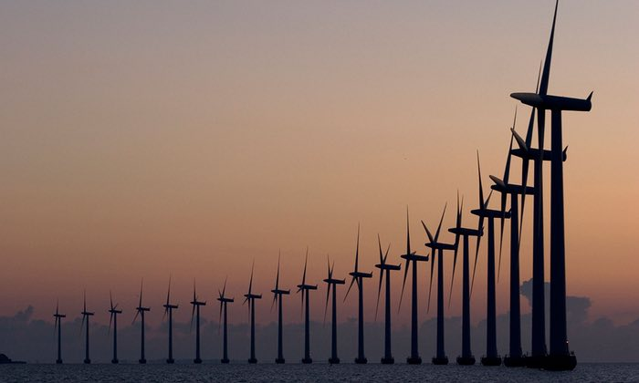 Denmark Killin' It With Wind Power, Leading the Way on Climate (While Trump Wants More Coal)