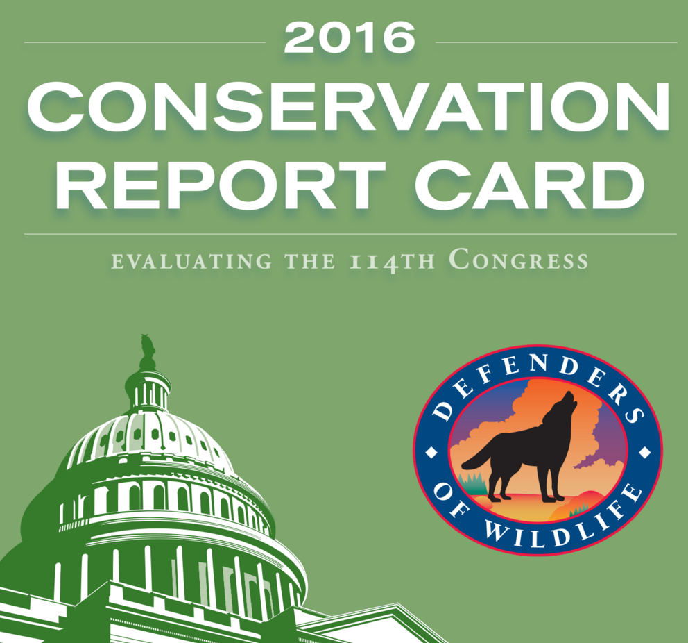 Where is Your Lawmaker on the Environment? VIEW: Congressional Conservation Report Card
