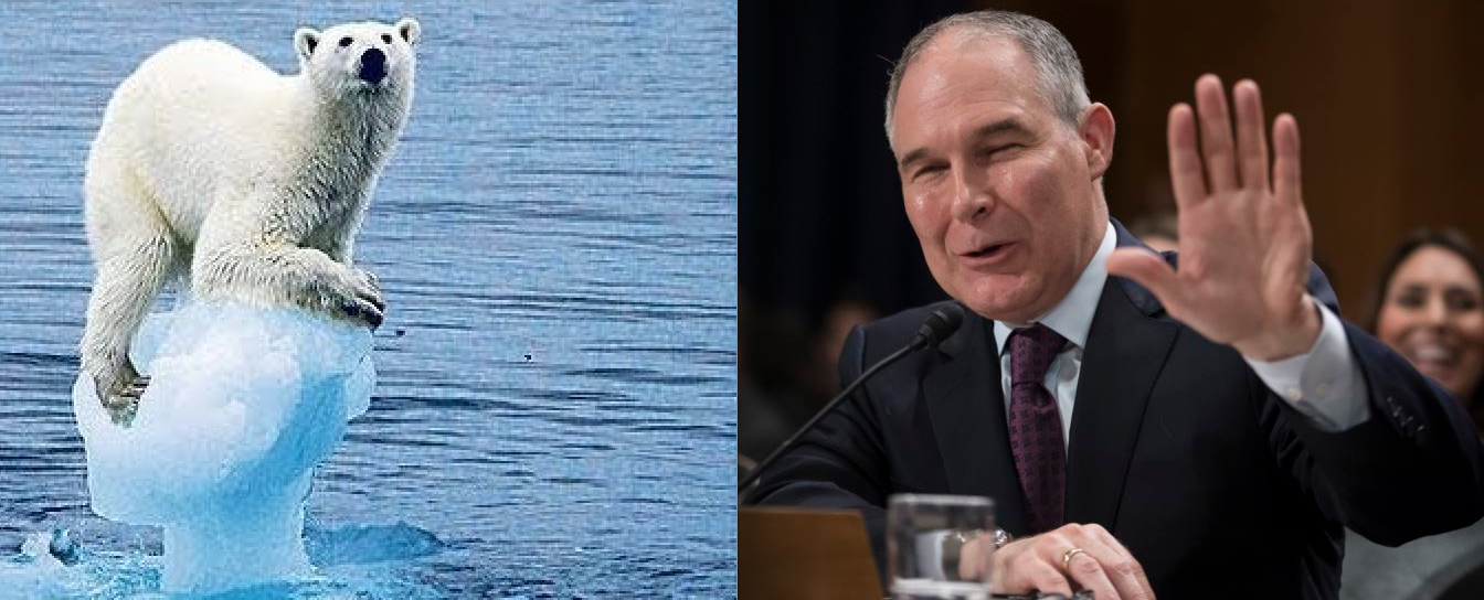 Study: 10 Yrs. to Stop Climate Damage or Else! (as Pruitt Calls for U.S. to 'Exit' Paris Accord)
