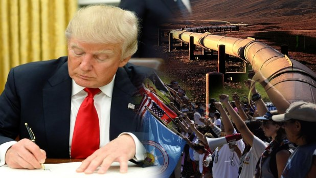 Native American and Environmental Orgs Sue Trump Admin Over Keystone XL Pipeline Permit