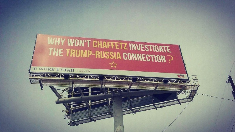 Can you Hear Me Now? Utah Brothers Erect Billboards Slamming Jason Chaffetz over Russia