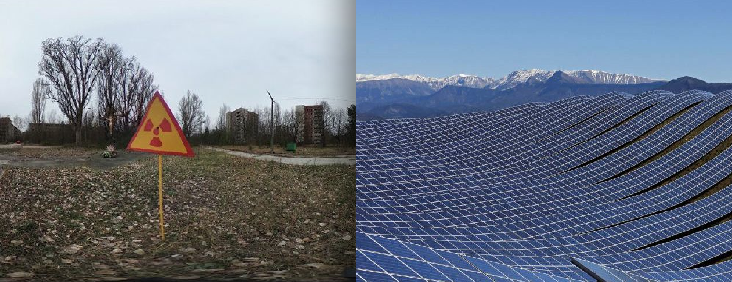 1st Solar Panels Sprout at Chernobyl as Ukraine Seeks Investments to Solarize Exclusion Zone