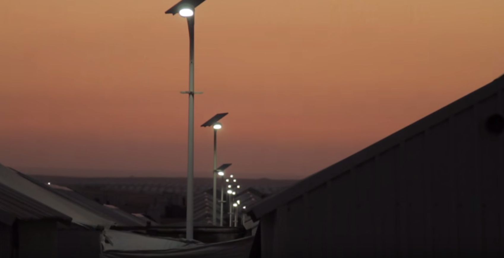 Historic First: Solar Plant Illuminates Syrian Refugee Camp, Vastly Improving Quality of Life