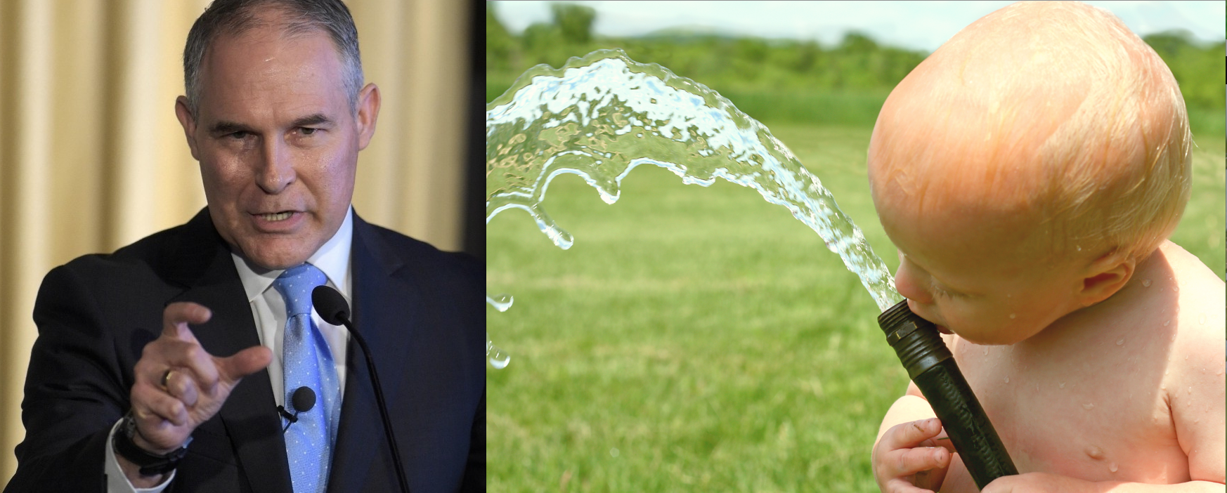 Scott Pruitt Proposes Gutting Clean Water Act, Threatening Drinking Water of 117m Americans