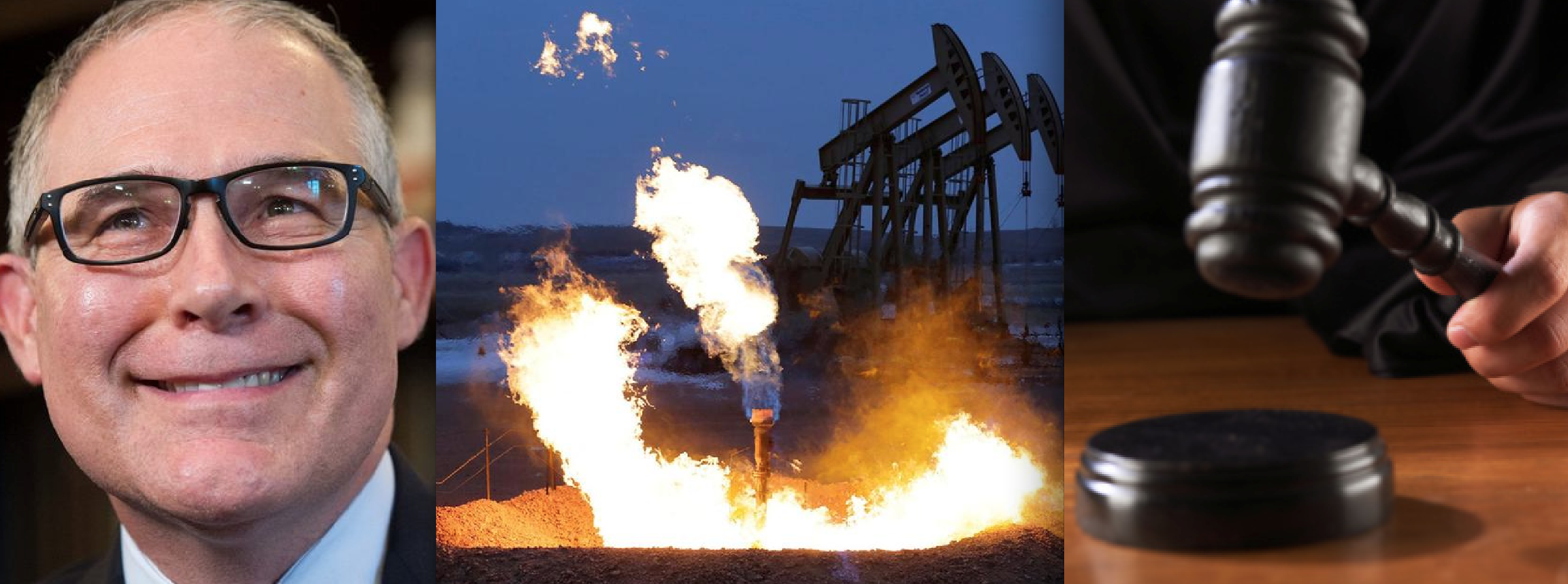 Appeals Court Shoots Down Trump Admin's Attempt to Halt Obama Oilfield Methane Rule