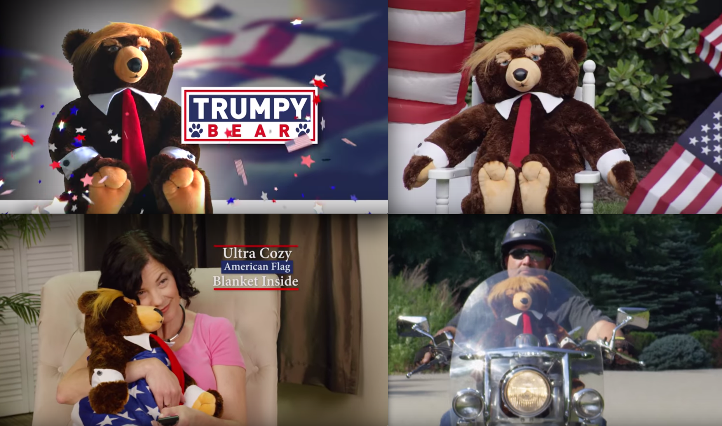 Side-Splitting Video: Infomercial Hits Primetime TV: Meet 'Trumpy Bear' (Yes This is Real News)