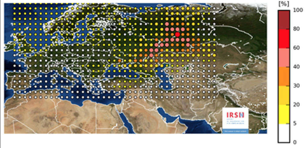 Radiation Cloud Over Europe, Not 'Harmless' to Those near Unknown Source, Nuclear Expert Says