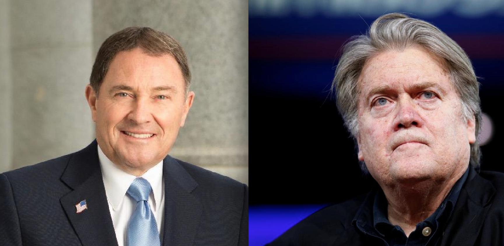 Conservative Utah Gov. Gary Herbert Rips Steve Bannon a New One For His 'Mormon Bigotry'