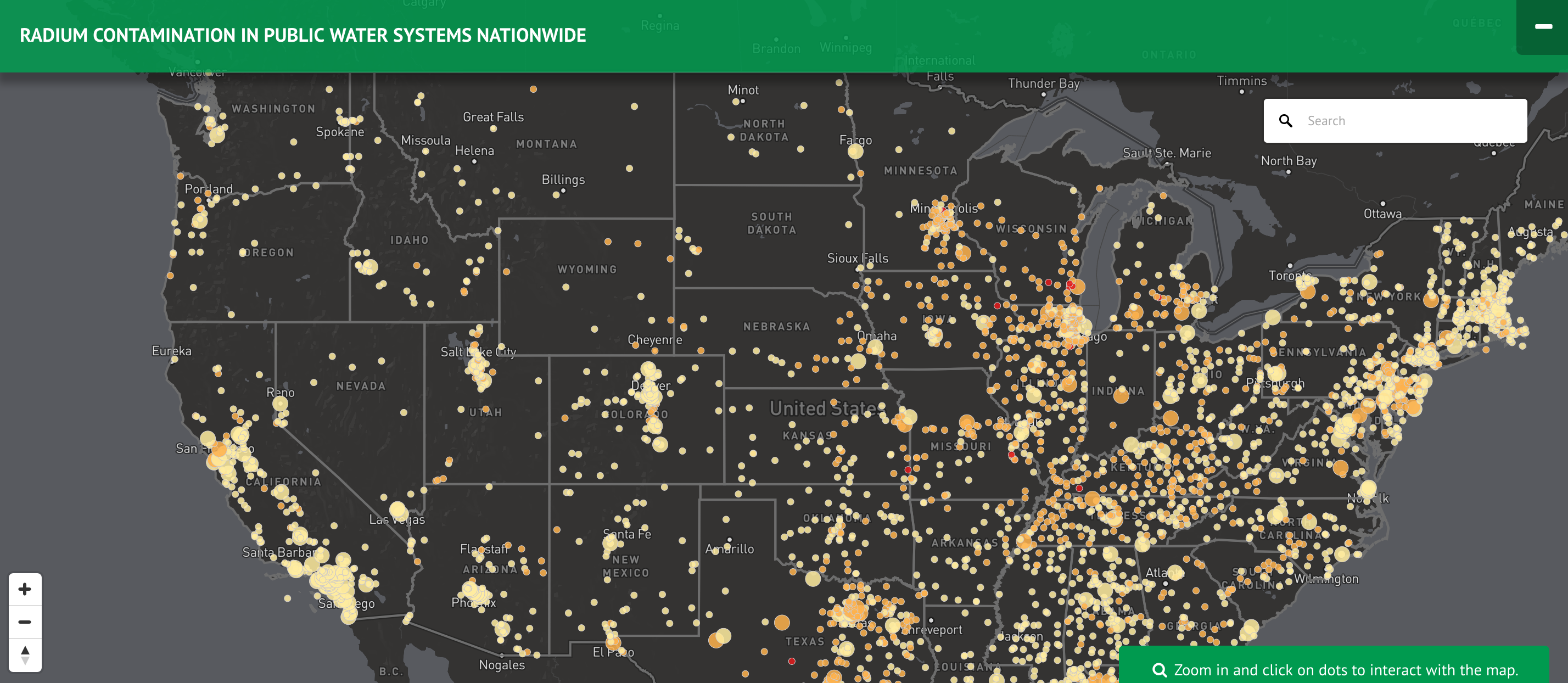 Stunning Report: 170m Americans Now Drinking Radioactive Water — See if Your H20 is Affected