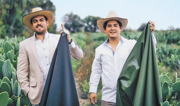 Cactus Fashion: Mexican Inventors Create Vegan Leather Alternative from Prickly Pear Plant