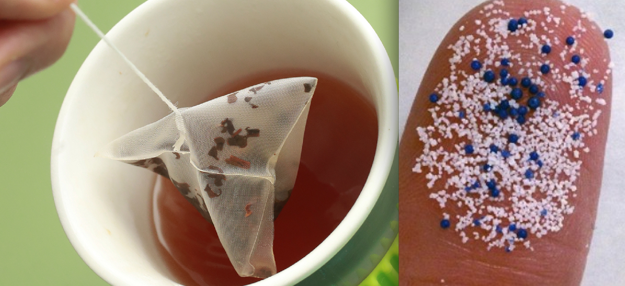 CAUTION ADVISED: Study: Tea Bags Leaching off Billions of Microplastic Particles into Herbal, Green Teas