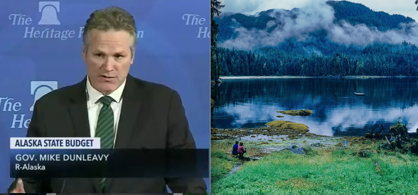 Gov. Dunleavy Pushes Hard for Mining, Logging the Tongass National Forest in Heritage Speech