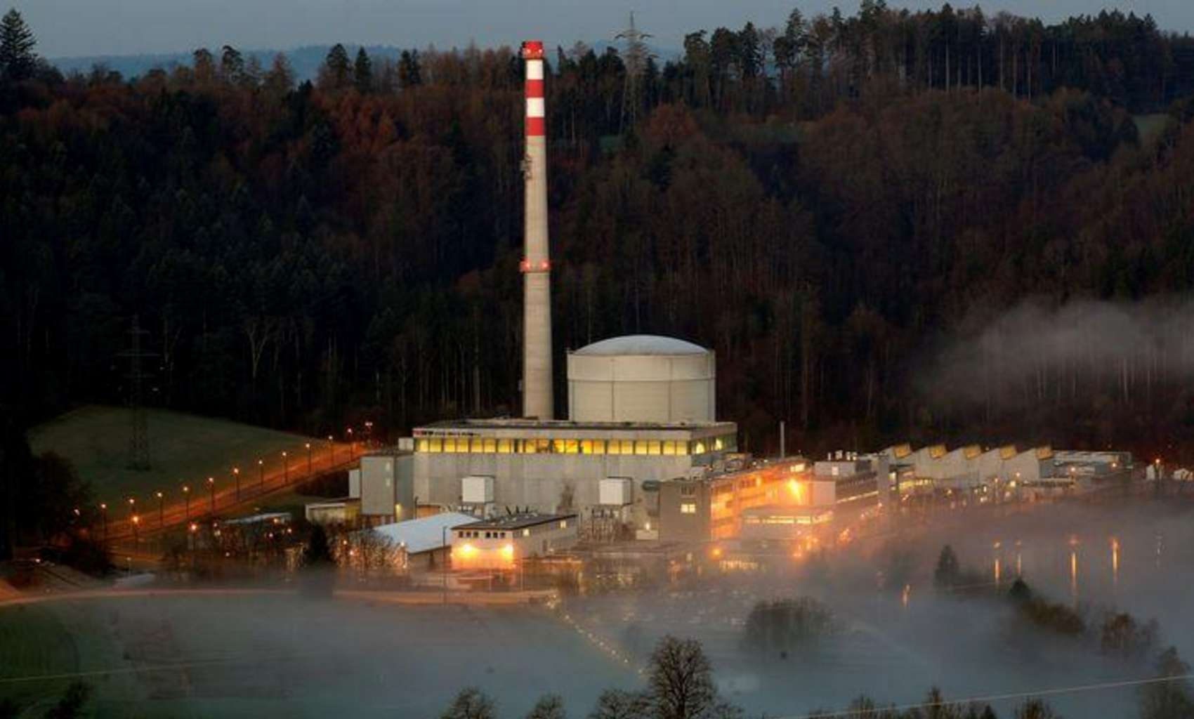 Switzerland Shuts off First of Four Nuke Plants in Move to End Dependence on Nuclear Power