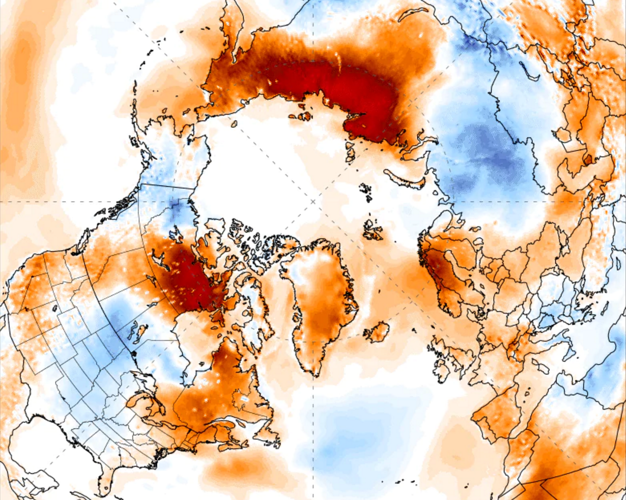 100°!: Record-Shattering Temperatures Blanket Arctic Circle as Climate Experts Sound the Alarm Again
