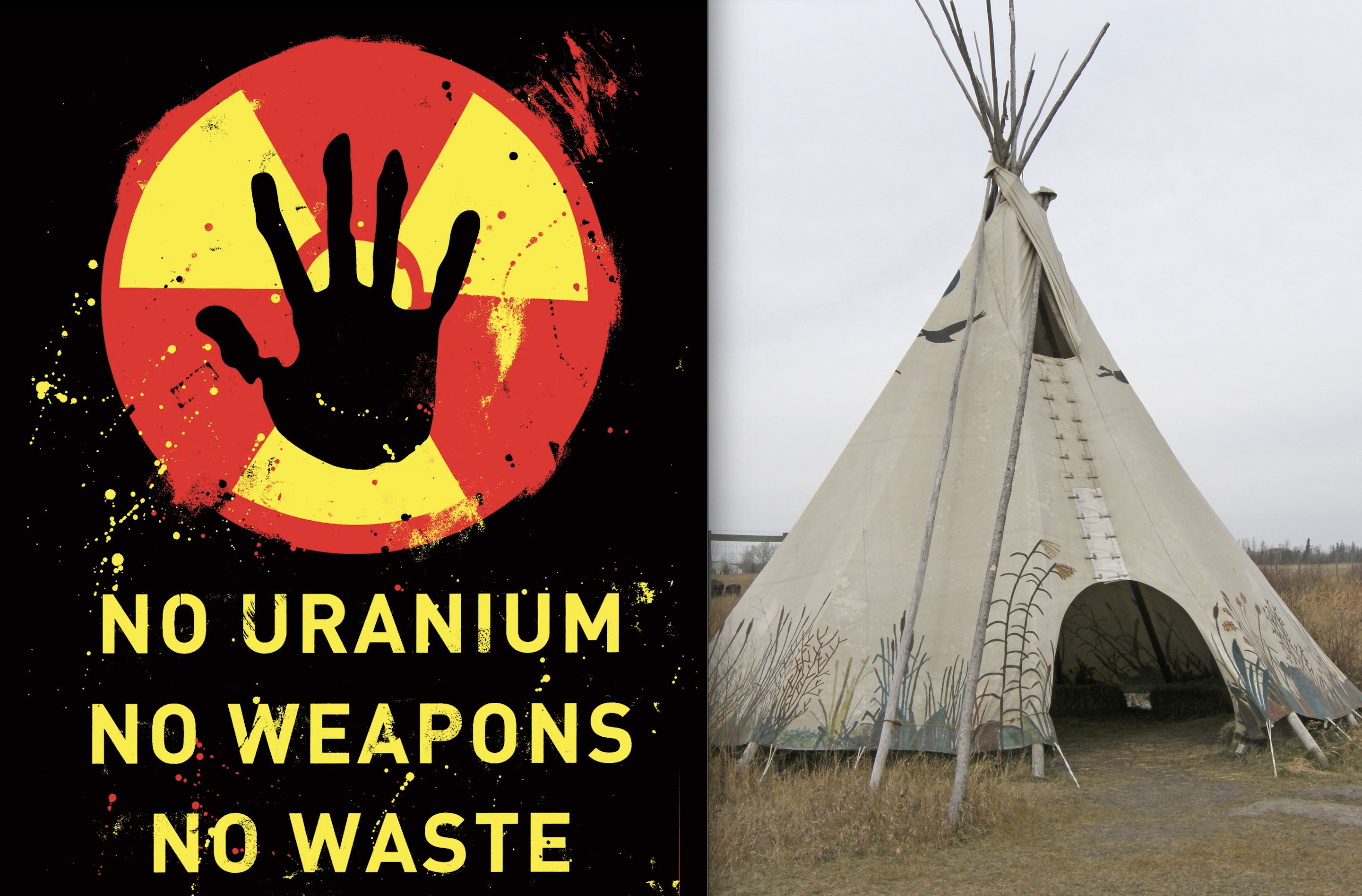 Dust-up: First Nations Group and Uranium Co. Clash; Teepee Blockage Goes up, Mining Co. Backs down