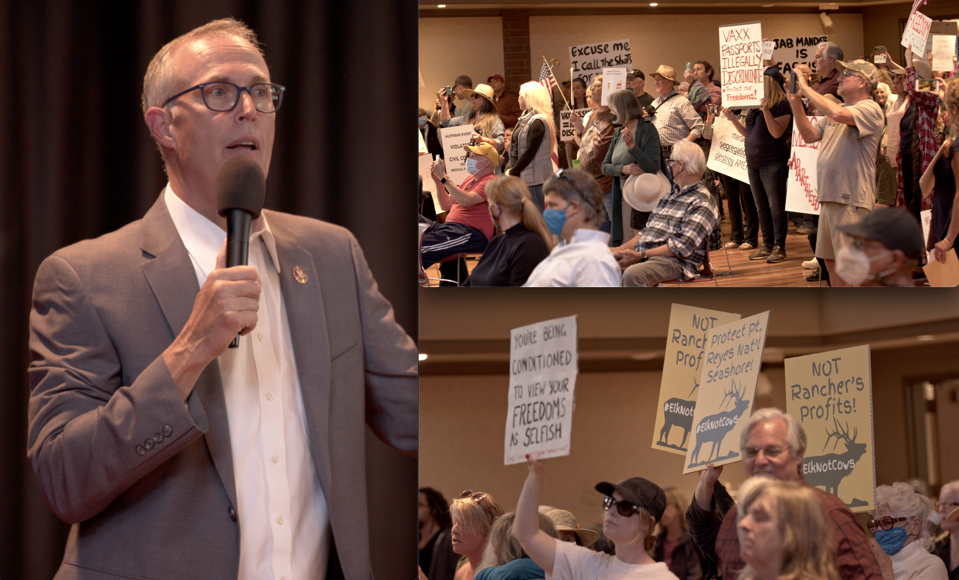 Editorial: Rep. Jared Huffman's Attempt to Block EnviroNews from Public Town Hall Meeting was Unethical