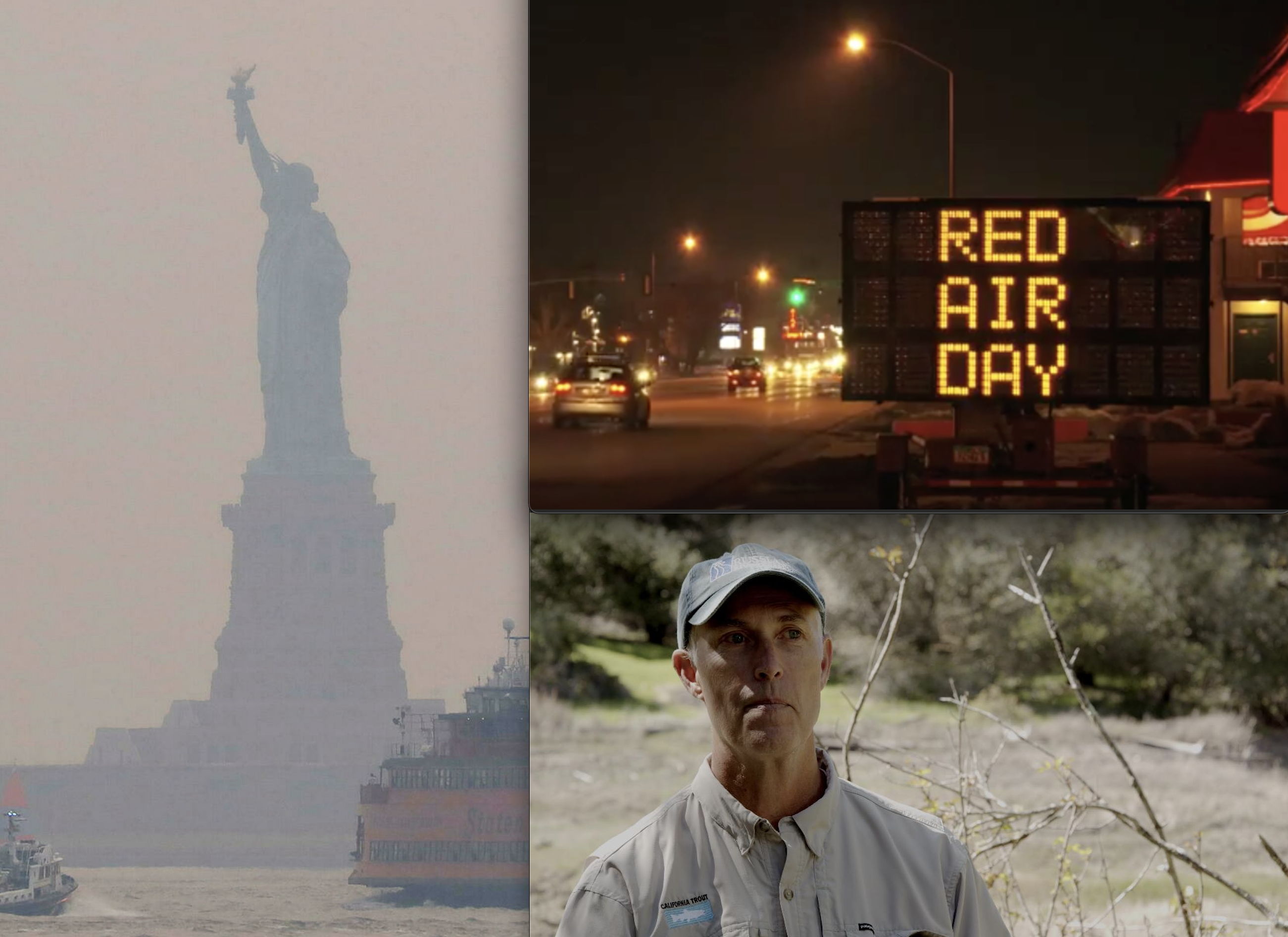 West Coast Wildfires Now Causing Dangerous New Seasonal Air Pollution Catastrophe Across America: CA's Rep. Jared Huffman Weighs in; Lawmakers Introduce Bills